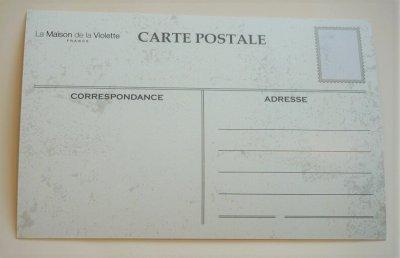 画像1: フランス製 スミレのポストカード