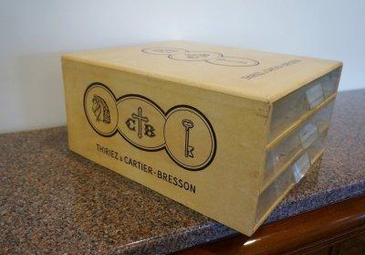 画像1: フランス製 ヴィンテージ Cartier-Bresson ボックス 箱