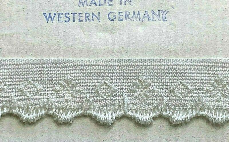 画像1: 西ドイツ製ヴィンテージトリミング (1)
